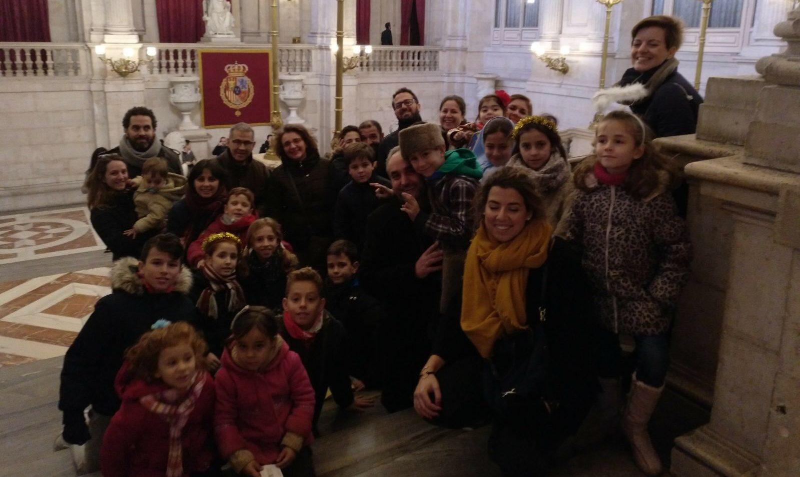 Los niños han sido protagonistas de nuestras visitas a los Belenes de Madrid