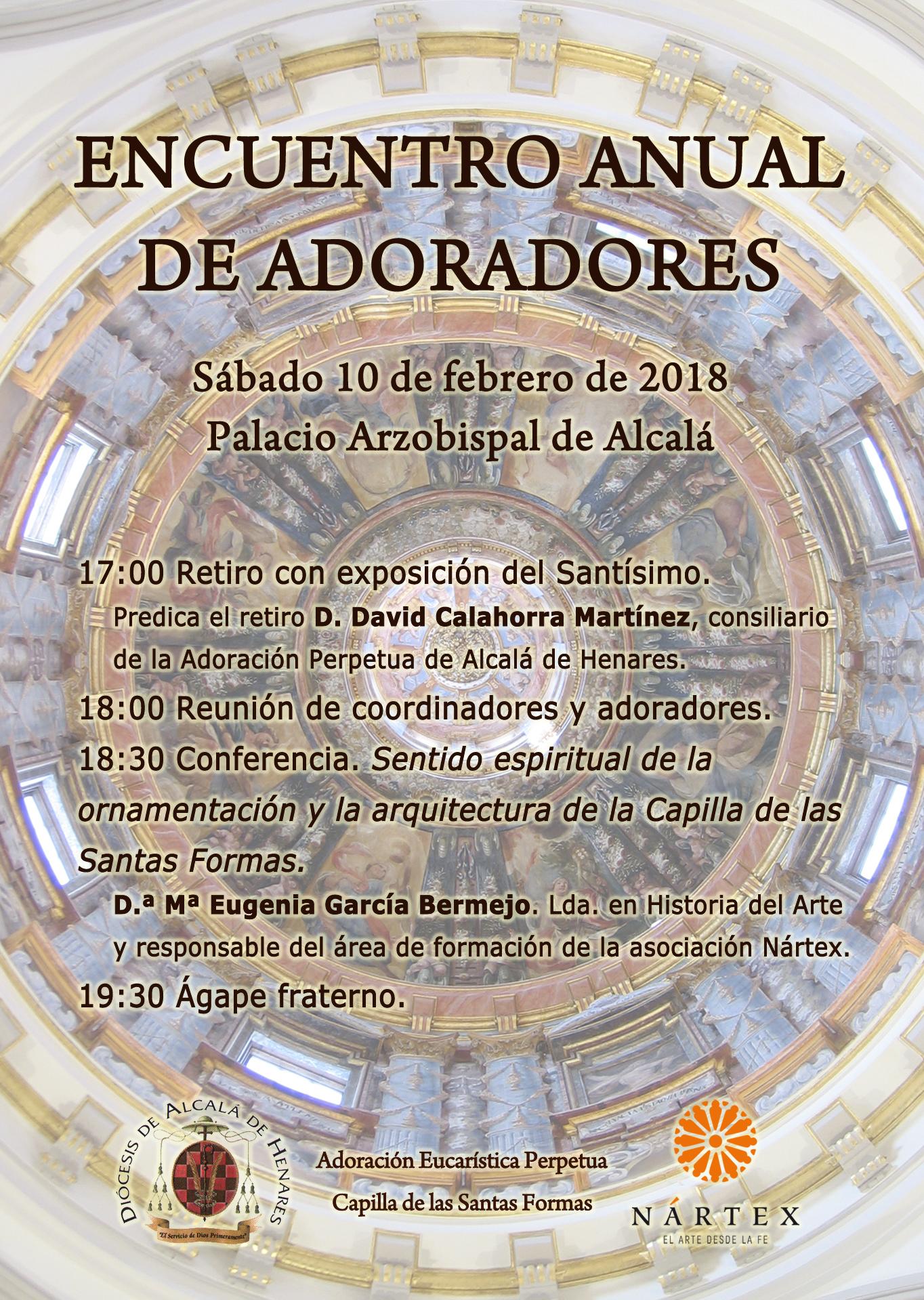 Conferencia: Sentido espiritual de la ornamentación y arquitectura de la Capilla de las Santas Formas