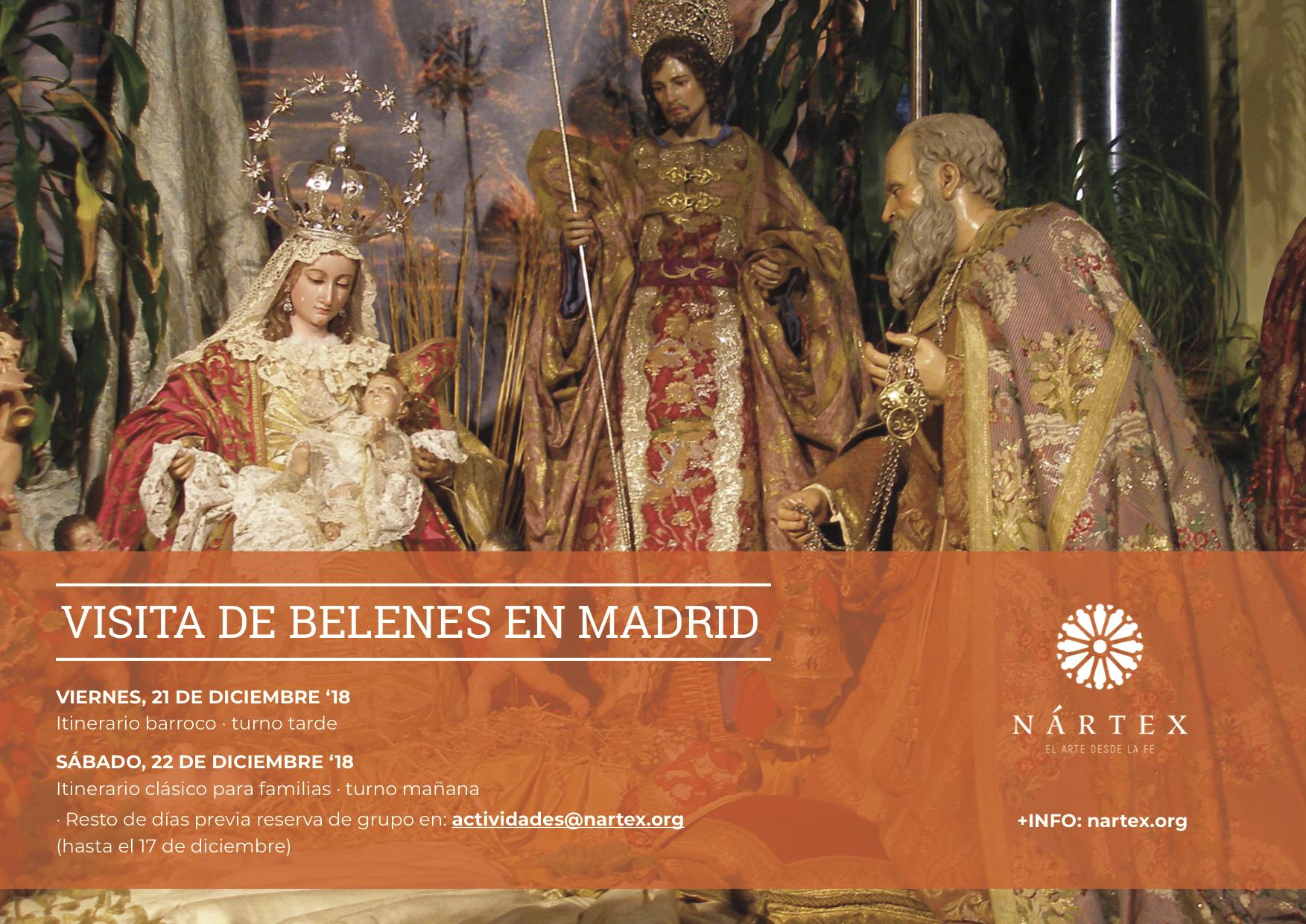 DESCUBRE LOS BELENES DE MADRID CON NÁRTEX - 2018