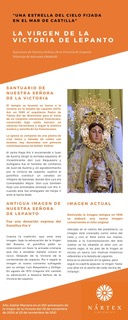 Virgen de Victoria de Lepanto - Infografía